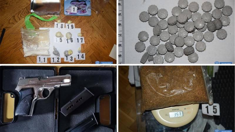 Policija uhitila četvero u jednom danu zbog preprodaje droge: Mladić je pokušao pobjeći