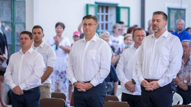 Rijeka: Andrej Plenković sudjelovao na misi na Trsatu