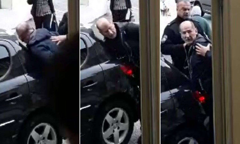 Ekskluzivni video: Ukrao auto i zabio se. Opirao se policajcima