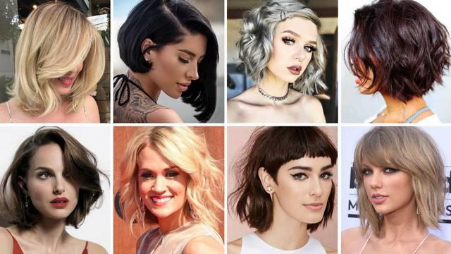 20 seksi frizura koje ne prelaze ramena i lako ih je održavati