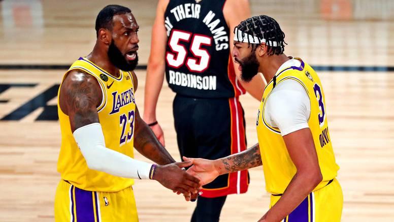 Peh za pehom za Miami: Davis i James nisu se opekli na Heat