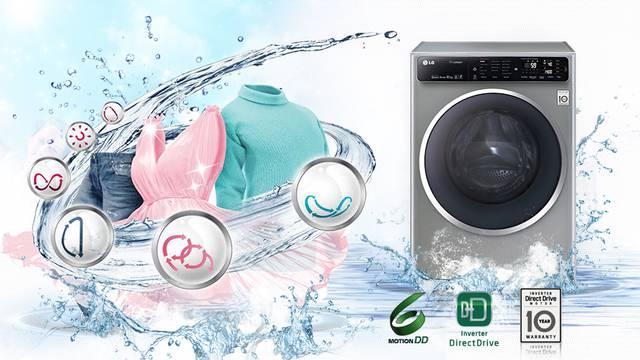 Lijepe, brze i štedljive: nove LG-eve perilice rublja