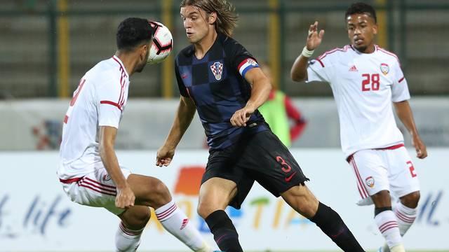 Prijateljska utakmica između mladih reprezentacija Hrvatske i Ujedinjenih Arapskih Emirata