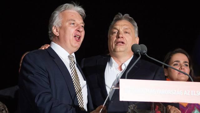 Parliamentary Election, Budapest, Hungary - 08 Apr 2018