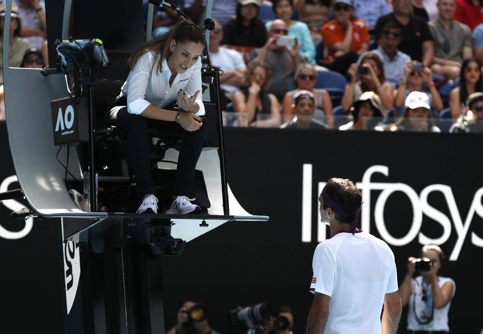 Tennis - Australian Open - Quarter Final