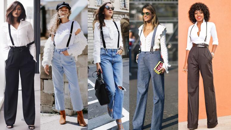 20 ideja kako kombinirati hlače s tregerima - ugodno i otkačeno
