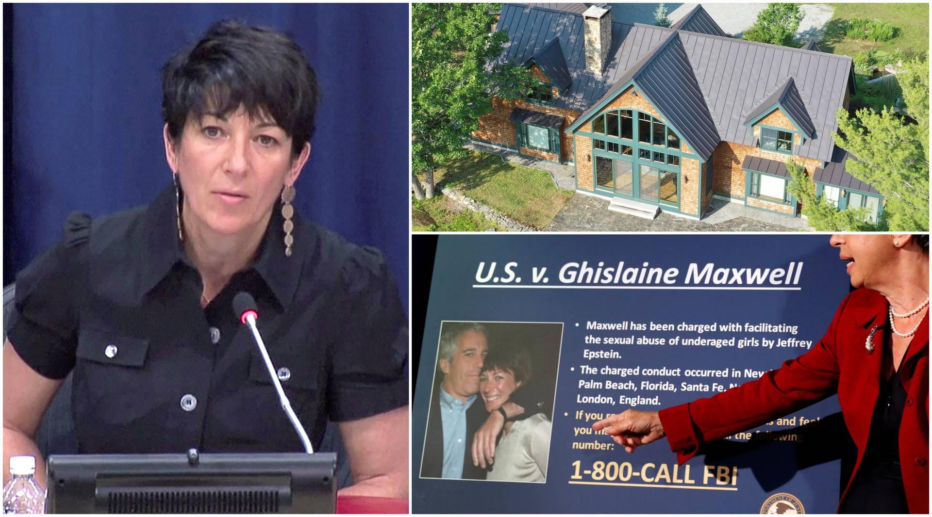 Epsteinovoj pomoćnici prijeti 35 godina, skrivala se na ranču