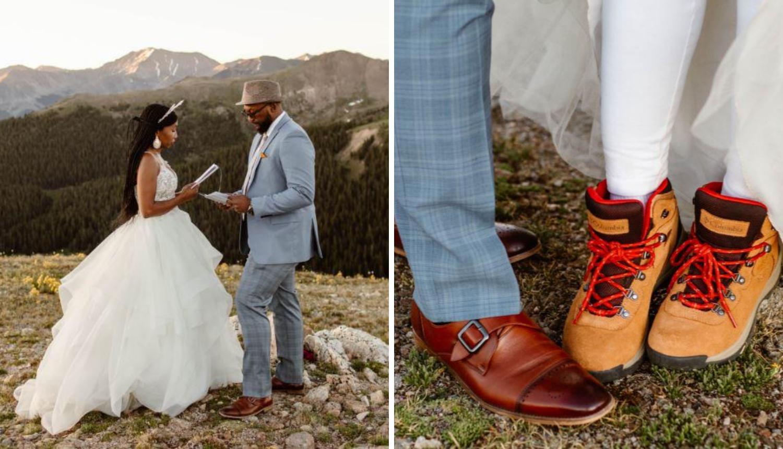 Perspektive su se promijenile: Mladenci se vjenčali na vrhu planine zbog korona virusa