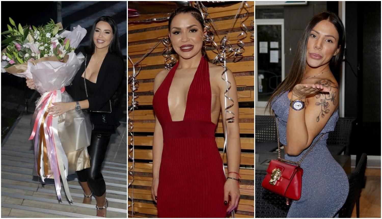 Cajka slavila rođendan: Grudi na izvol'te, pjevačice se borile s haljinama da ne pokažu previše