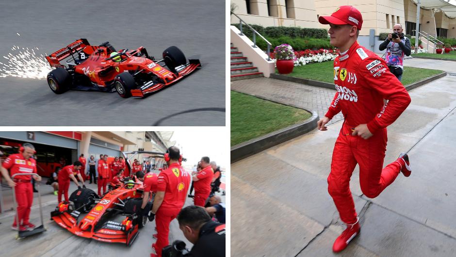 Loza se nastavlja: Schumacher je debitirao za Ferrari u F1...