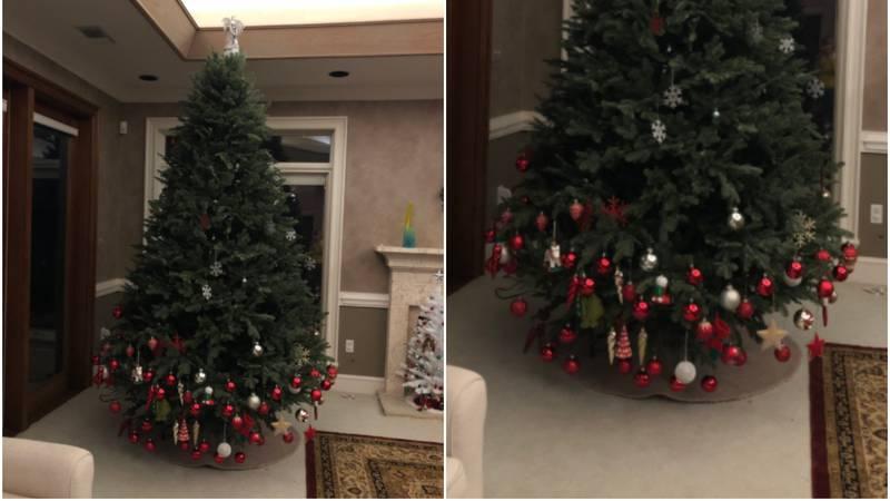 Dijete ukrasilo bakino božićno drvce - rezultat je nasmijao sve