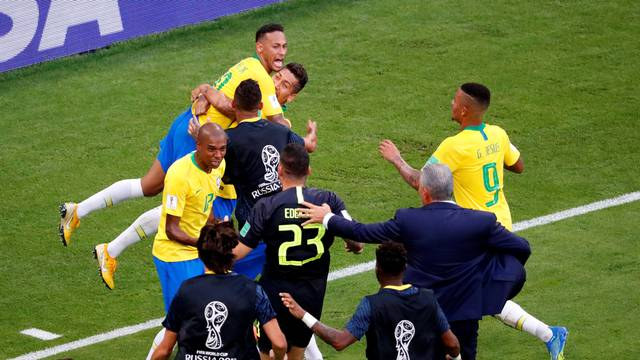 World Cup - Round of 16 - Brazil vs Mexico