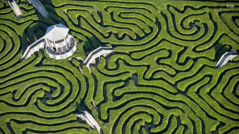 Riješite japanski test osobnosti - zamislite da ste u labirintu...