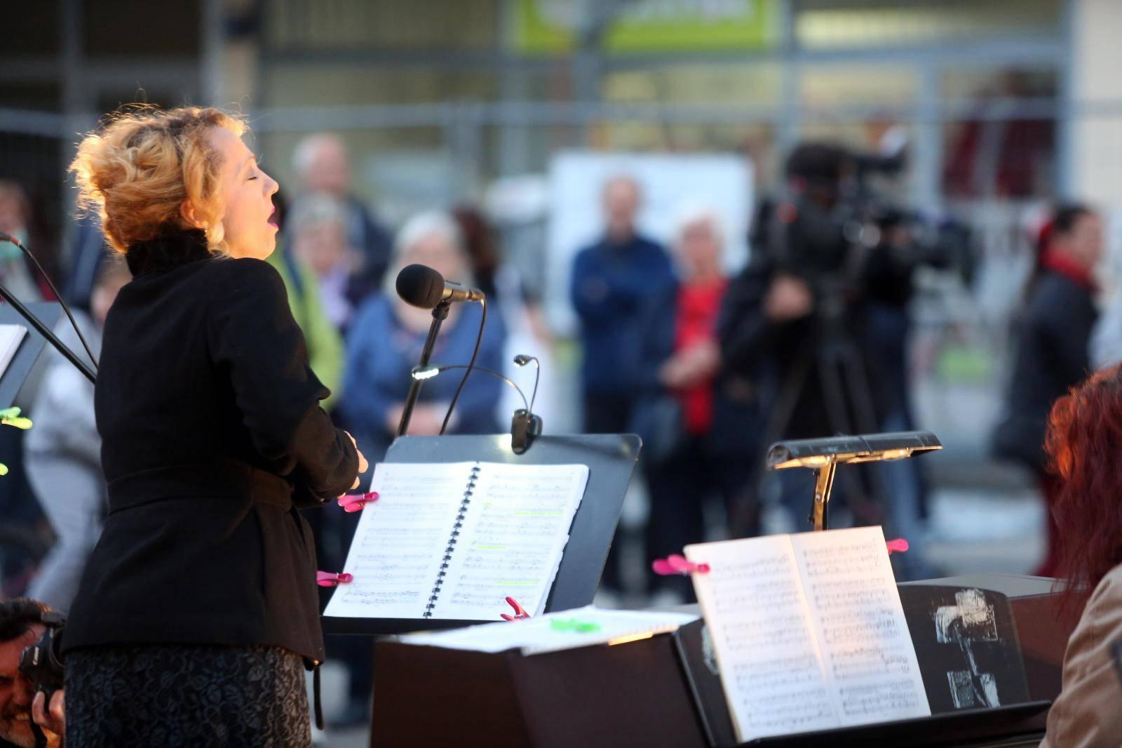 Zagreb: Program HNK u vašem kvartu, nastup u Travnom