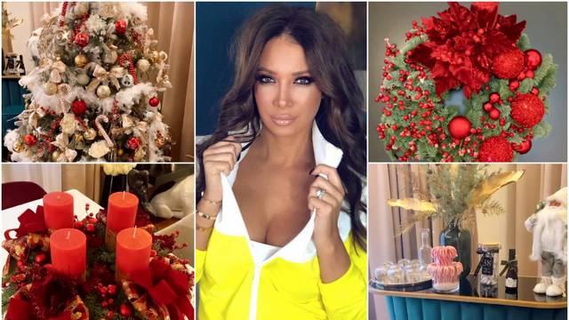 Tia Mamić pokazala kako je raskošno ukrasila dom za Božić