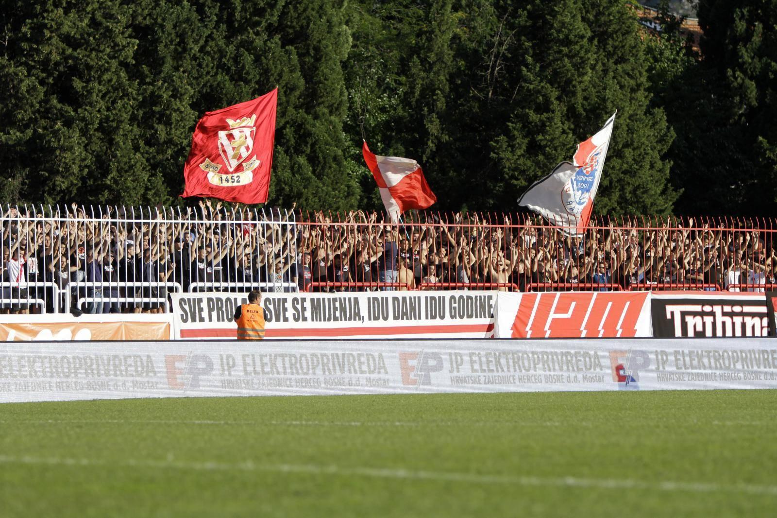 Mostar: Utakmica Premier lige, HŠK Zrinjski Mostar - NK Široki Brijeg