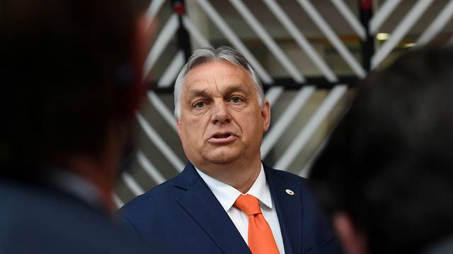 FILE PHOTO: Hungary's Prime Minister Viktor Orban in Brussels