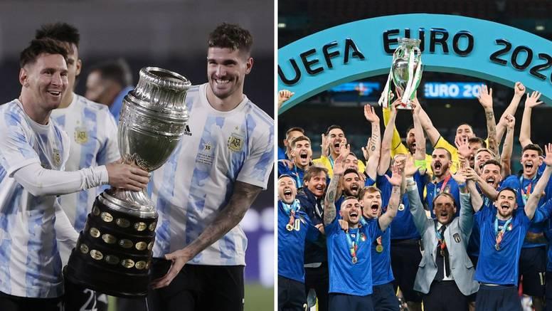 Novo nogometno natjecanje: Italija - Argentina u 'Finalissimi'