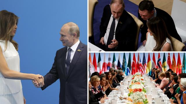 Melania se družila s Putinom: 'Uživala sam u Hamburgu...'