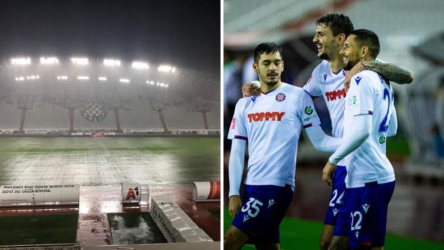 Hajduk razbio Varaždin, uvjeti za igru bili su - baš nemogući!
