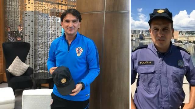 Daliću dao policijsku kapu: 'To je izgleda bio recept za uspjeh'