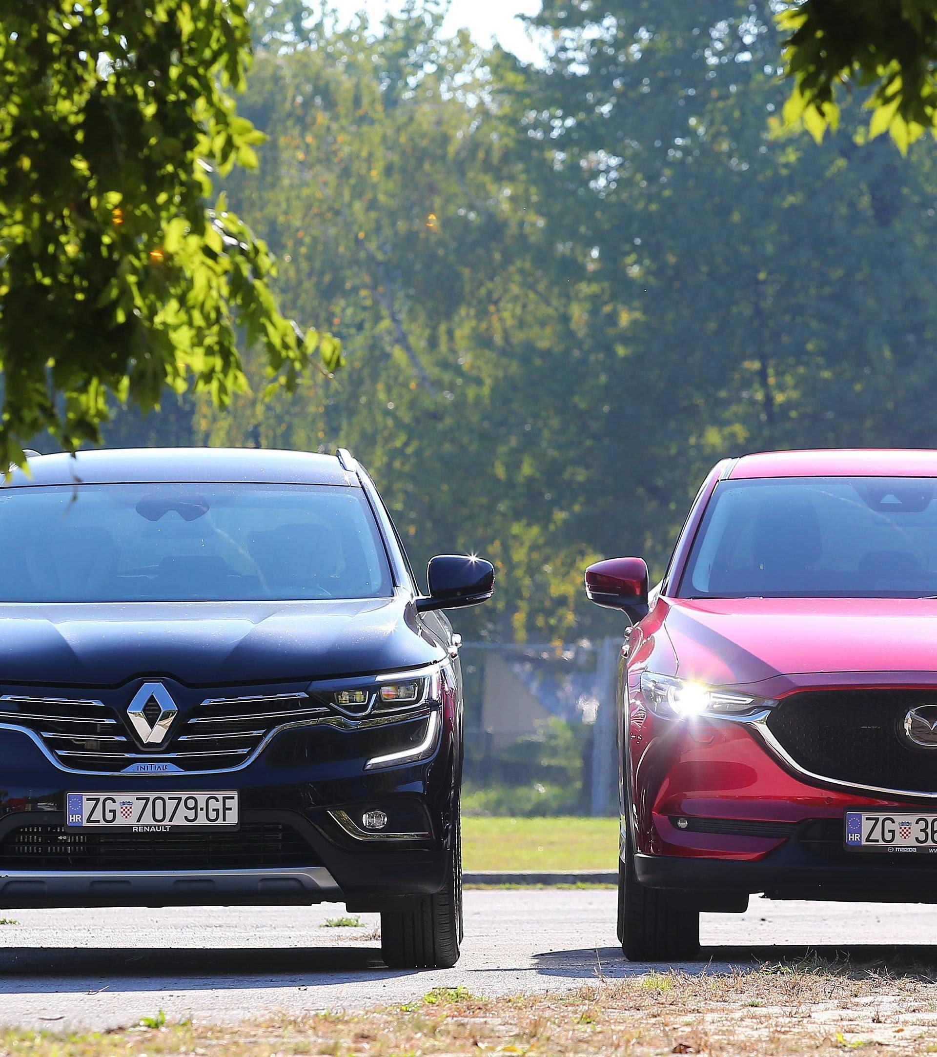 Mazda vs. Renault: Dvoboj za one koji žele najviše od SUV-a