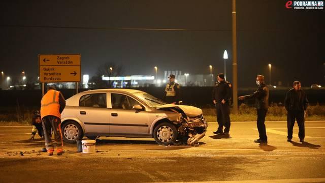 Koprivnica: Teški sudar dva auta, hitna odvezla ozlijeđene