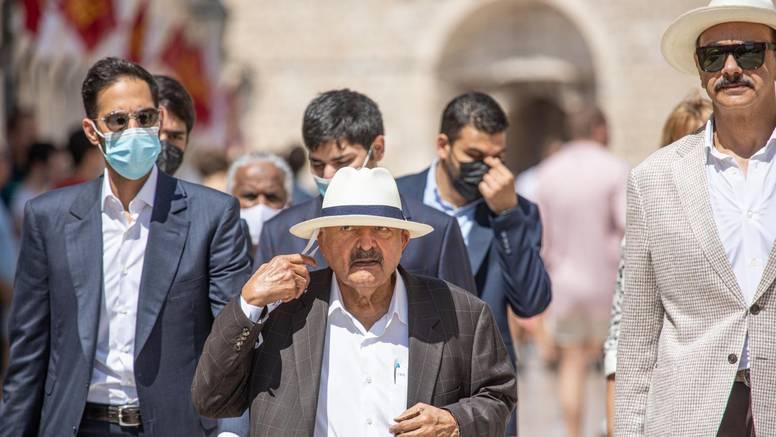 Katarski šeik težak 1.6 milijardi dolara odmara u Dubrovniku