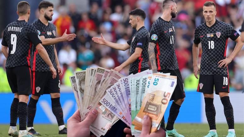 Evo koliko je Hrvatska zaradila nakon ispadanja u osmini finala