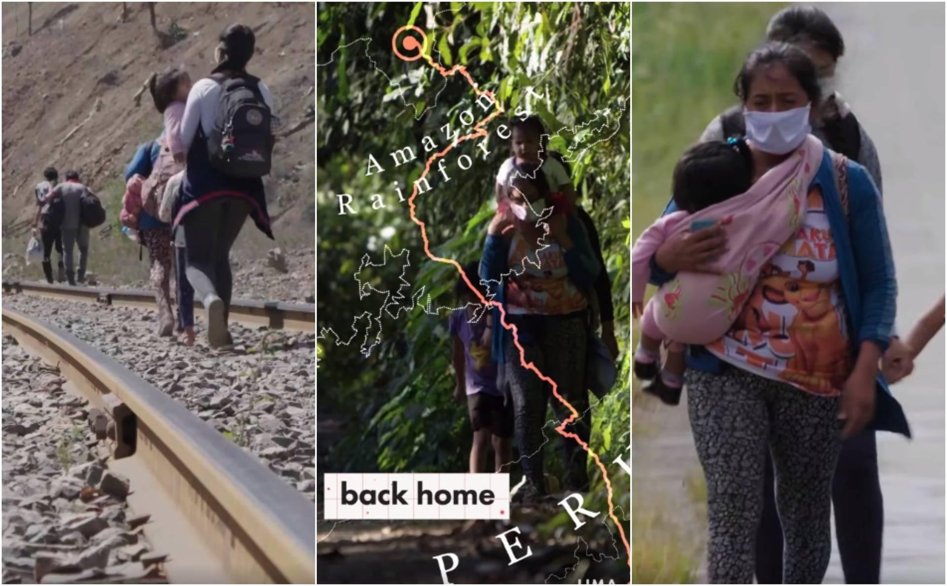 Majka s troje djece propješačila 563 km da se spasi od korone!