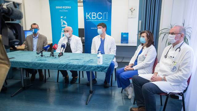 Rijeka: Zavodu za pulmologiju donirano osam monitora za praćenje stanja COVID bolesnika