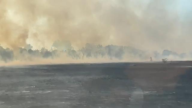 Požar kod Udbine još uvijek nije pod kontrolom: 'Vatra se brzo širi, još traje izdimljavanje'