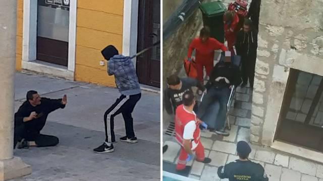 Krvavog navijača spašavali od huligana s metalnom palicom