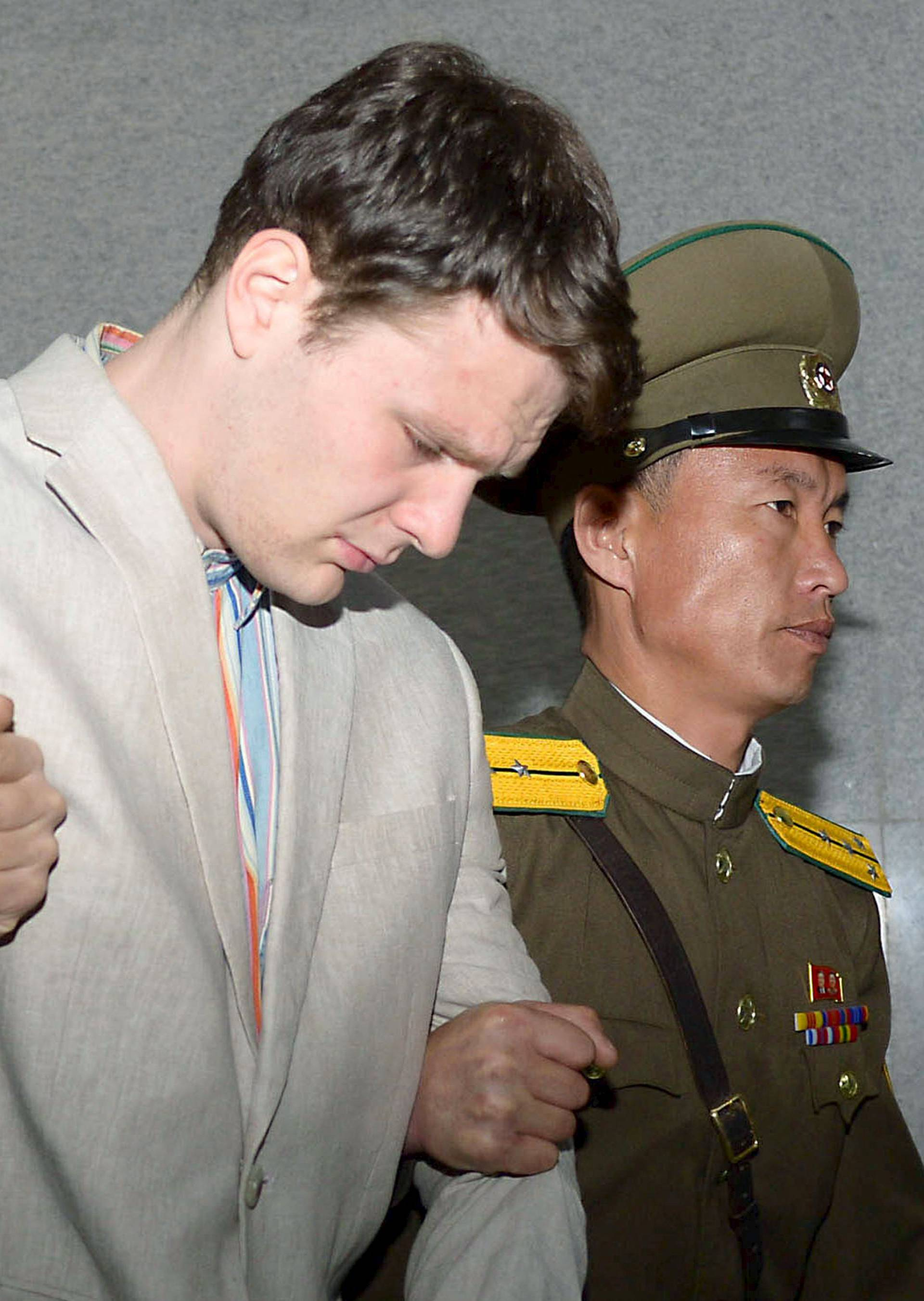 Kim je osudio Amerikanca (21) na čak 15 godina prisilnog rada