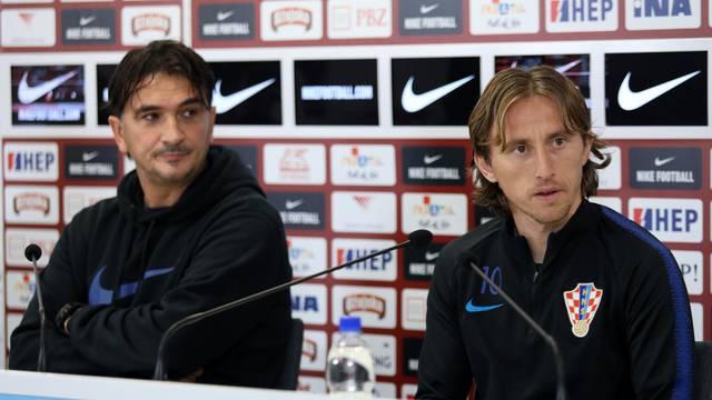 Dalić i Modrić najavili sutrašnju utakmicu protiv Slovačke