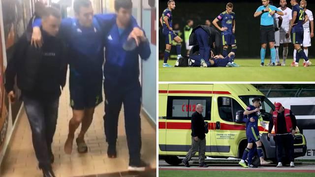 Kakav peh! Kulenović se teško ozlijedio, pukla kost u stopalu