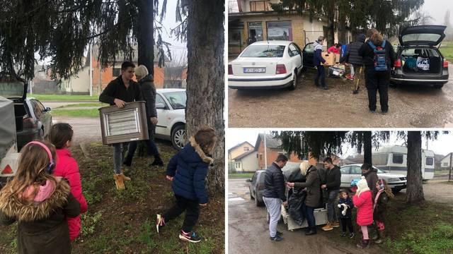 Obitelj iz auta: Hvala divnim ljudima, stižu dva kontejnera