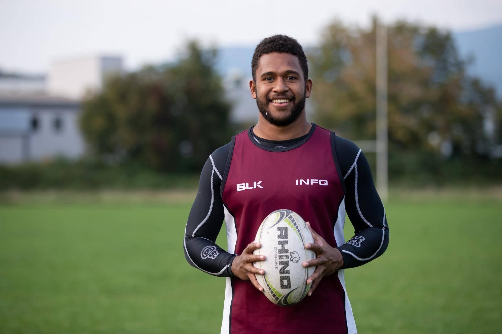 'Prvi sam sportaš koji je došao u Hrvatsku igrati sa Fidžija!'