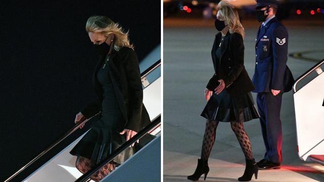 Prva dama mrežastim čarapama pokrenula raspravu: 'Jeftino, izgledaš kao Madonnina baka'
