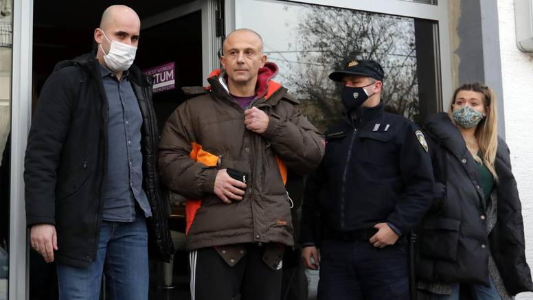 Klarić pušten van: 'Inspektorici vidim suzu u oku, ali zatvara me, a opet bih učinio sve isto'