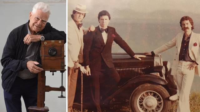 Otišla zadarska legenda: Foto Vjeko preminuo u 92. godini