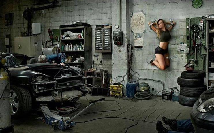 Dok ne stigne kalendar: Lidija se 'objesila' na zidu radionice