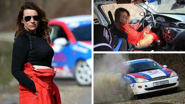 Kraljica brzine: Razvela sam se, sjela u auto i sad vozim reli