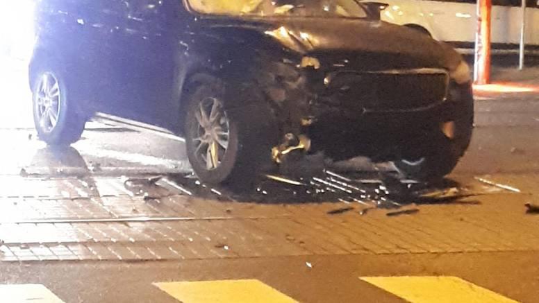Dvije nesreće u samom centru Zagreba, jedan čovjek ozlijeđen