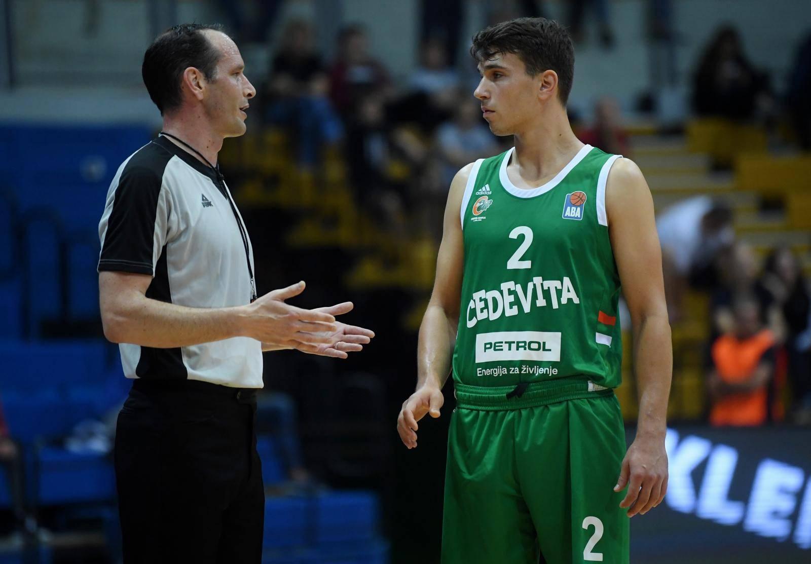 Finale Superkupa ABA lige između Cedevite Olimpije i Partizana