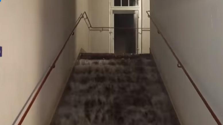VIDEO Snažna kiša je poplavila i ljubljansko kazalište: 'Voda je u slapovima padala na pozornicu'