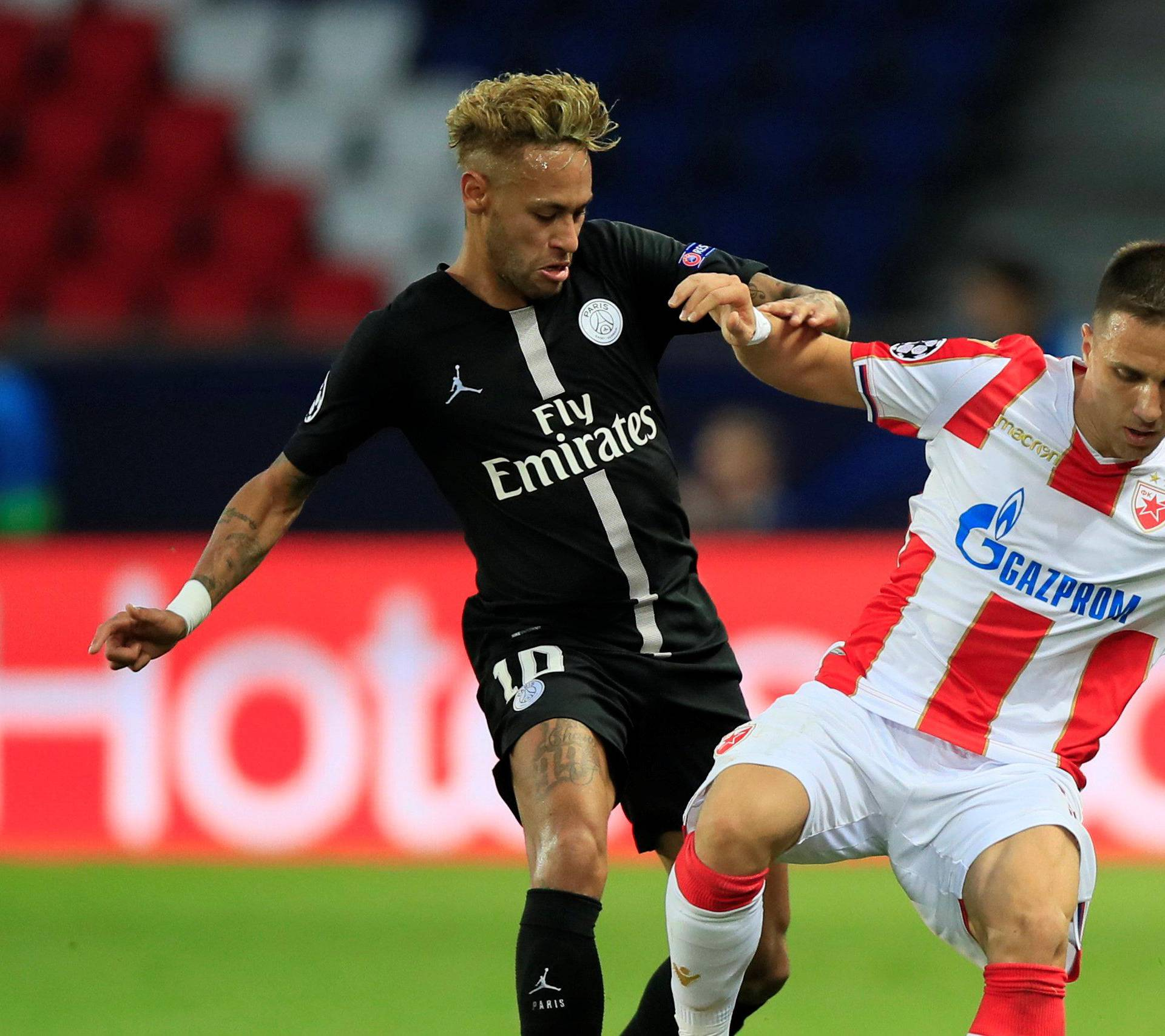 Champions League - Group Stage - Group C - Paris St Germain v Crvena Zvezda