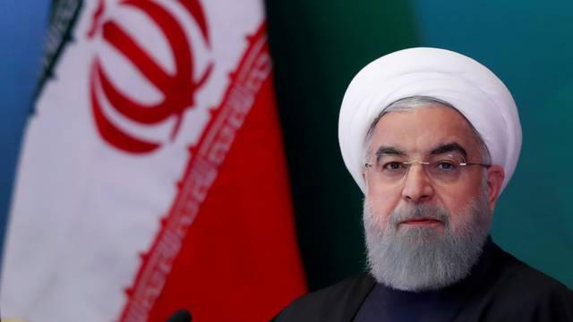 FILE PHOTO: Iranian President Hassan Rouhani