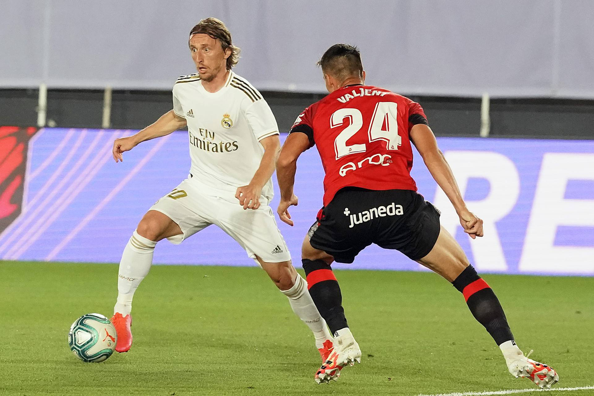 REAL MADRID v RCD MALLORCA. LA LIGA 2019/2020. ROUND 31.