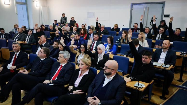Izglasali nepovjerenje i srušili su vladu Sarajevske županije